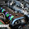 SSworxs Toyota 2jzgte VVTI Coil pack Cover