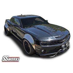 SSworxs Camaro Metal Fender Flares